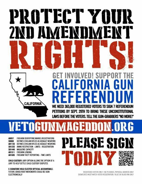 Martinez Gun Club Petition Poster