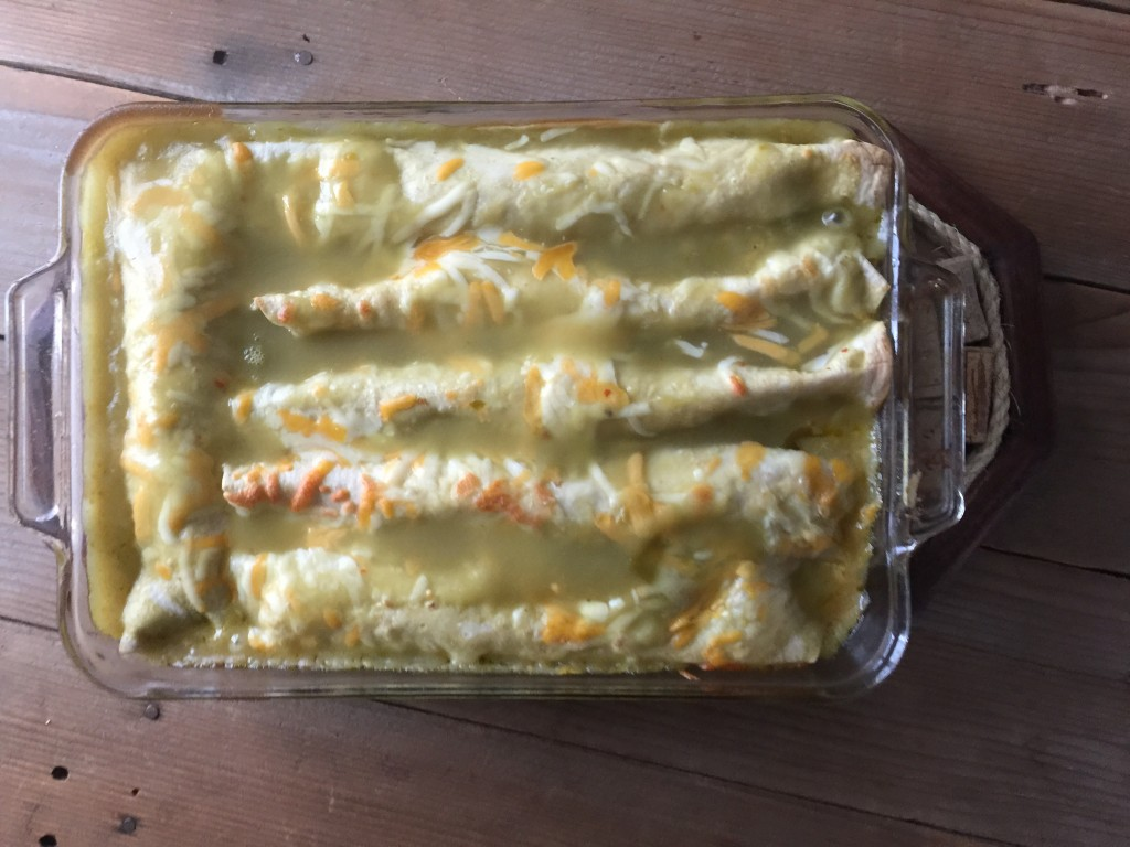 Wild Turkey Enchiladas